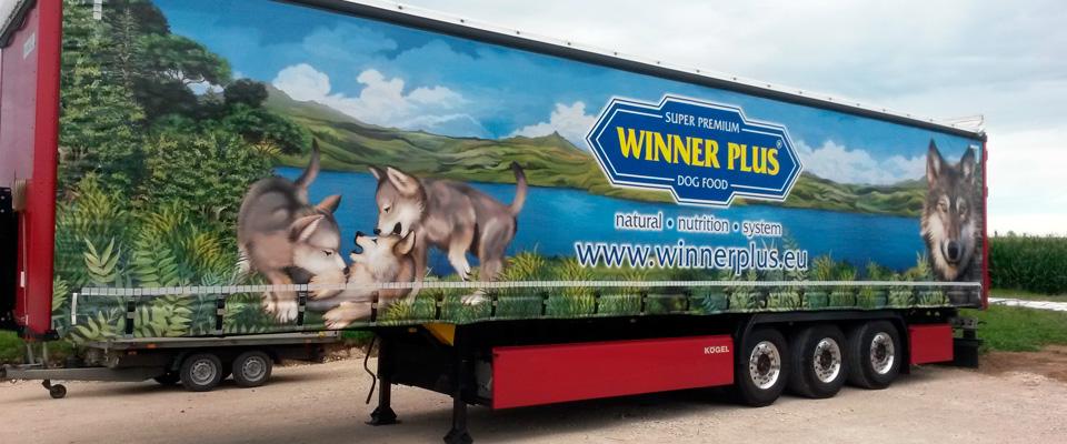 Auflieger Winner Plus